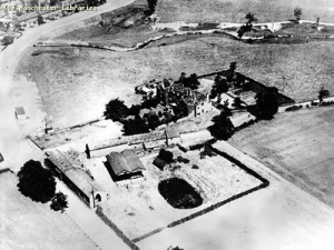 Aerial view Hough End Hall 1925 Imperial Airways m72046
